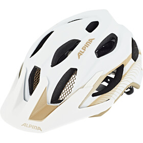 Alpina Carapax 2.0 Kask rowerowy, white-prosecco